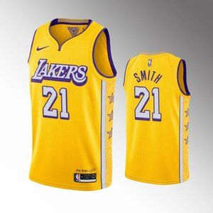 Los Angeles Lakers J.R.Smith City Jersey